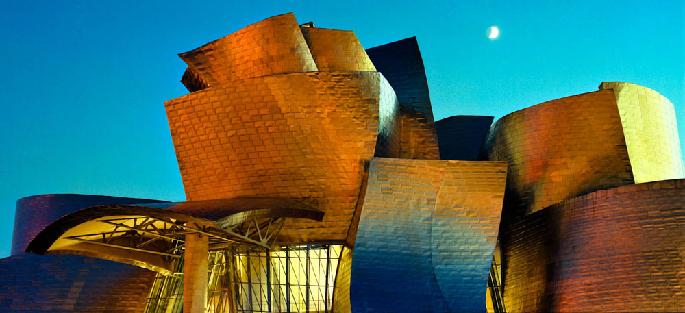Guggenheim Museum, Bilbao, Spain - designed by Gehry Partners