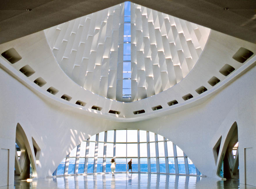 Milwaukee Art Museum, Wisconsin - designed by Santiago Calatrava