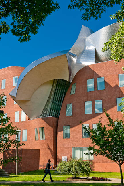 Lewis Building, Case Western Reserve University, Cleveland, OH - designed by Gehry Partners