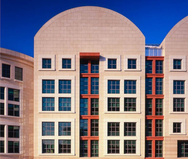 E. Barrett Prettyman Federal Courthouse, Washington, DC - designed by  Michael Graves & Associates