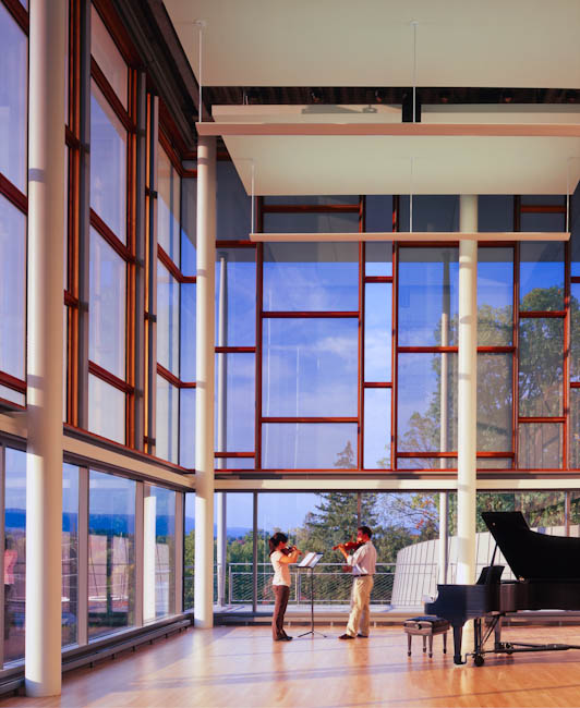 Mercersberg Academy, PA - designed by  Polshek Partnership Architects