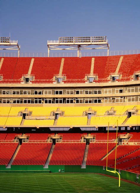Fed Ex Field, Landover, MD - designed by  HOK Sport