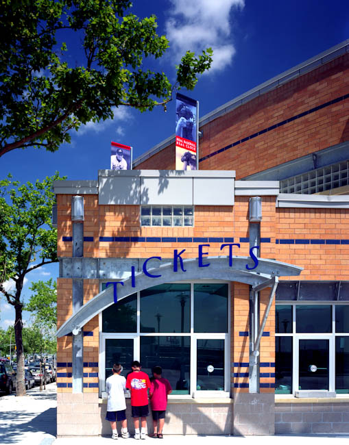 Richmond Couty Bank Ballpark, Staten Island, NY - designed by  HOK Sport