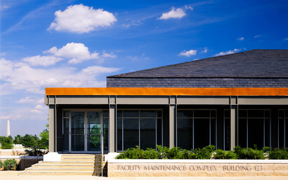 Facility Maintenance Complex, Arlington National CEmetery, VA - designed by  Kress Cox Associates