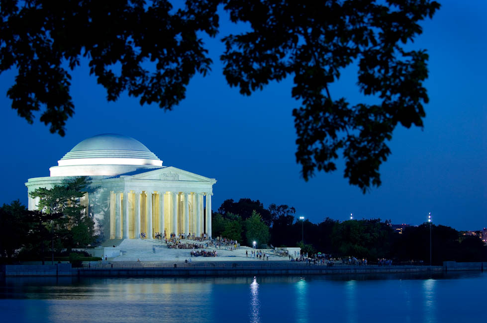 Thomas Jefferson Memorial, Washington, DC - designed by John Russell Pope