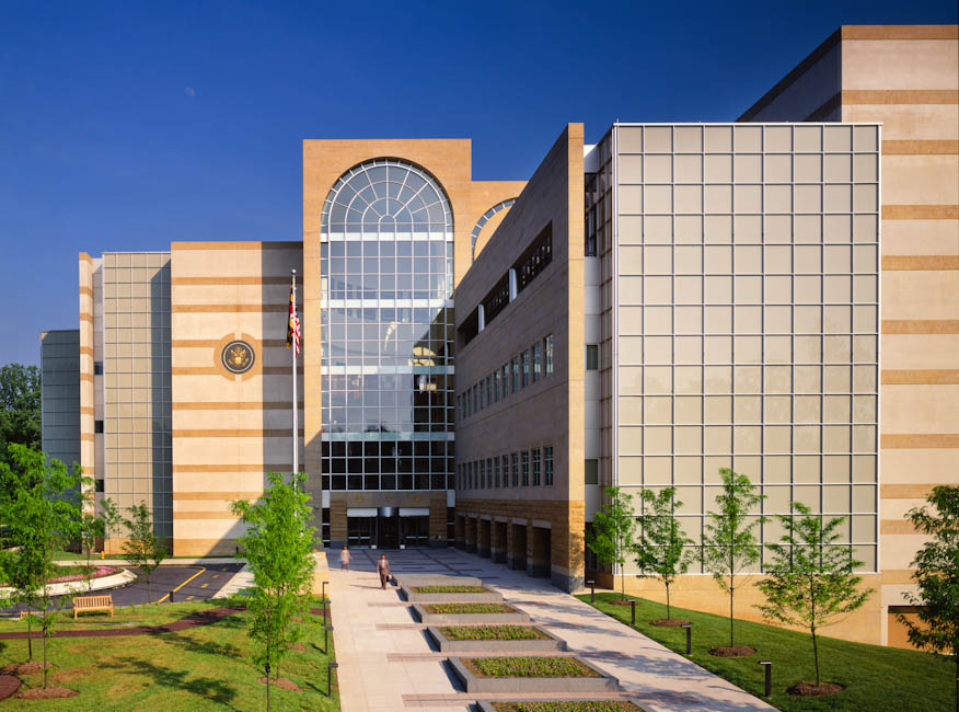 Federal Courthouse, Greenbelt, MD - designed by  HOK