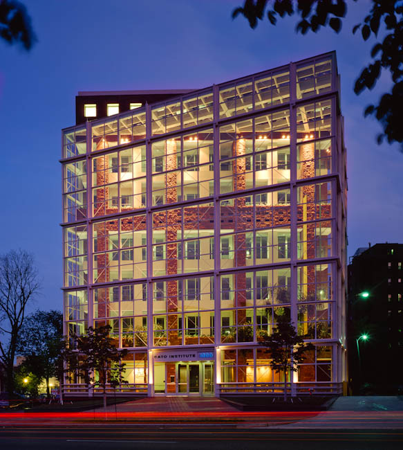 CATO Institute, Washington, DC - designed by  HOK
