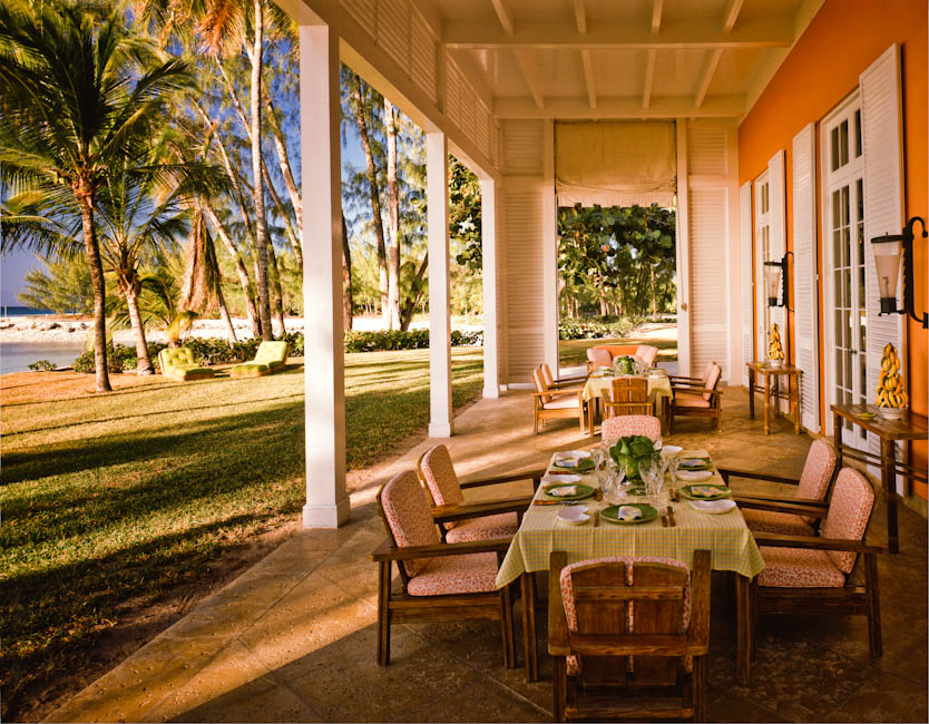 Lightbourne House, Lyford Key, Nassau, Bahamas - Photographed for Bill & Alison Paley