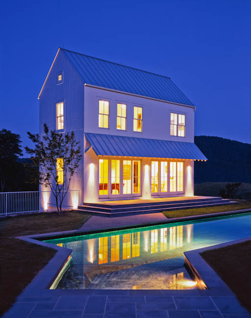 Svatos Pool House, Flint Hill, VA - designed by  archimania