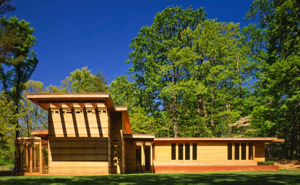 Pope-Leighey House, Alexandria, VA - designed by Frank Lloyd Wright