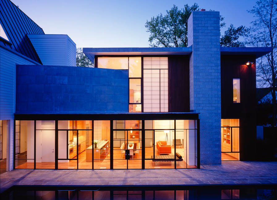 Kessler Residence, Chevy Chase, MD - designed by  Robert M. Gurney, FAIA