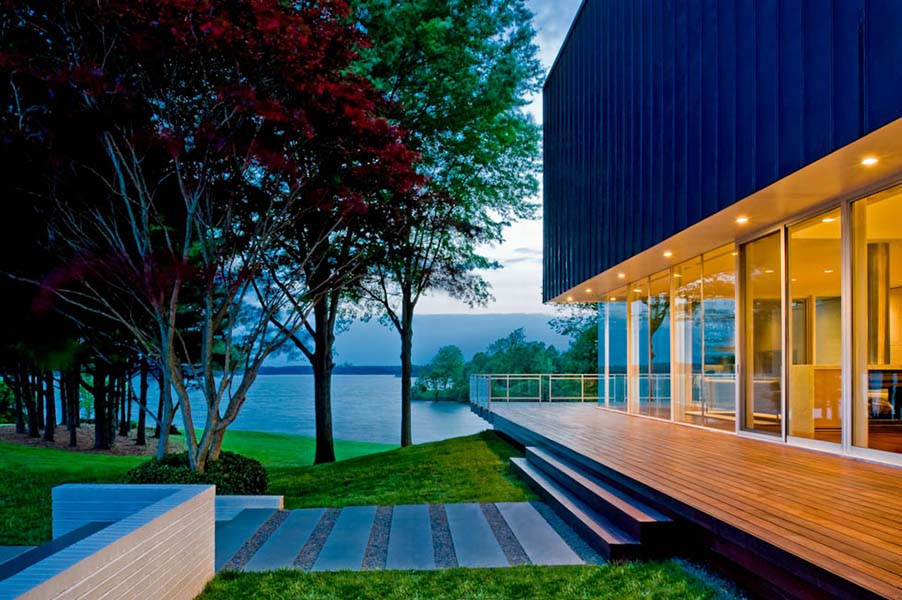 Lake Anna House, VA - designed by  Robert M. Gurney, FAIA
