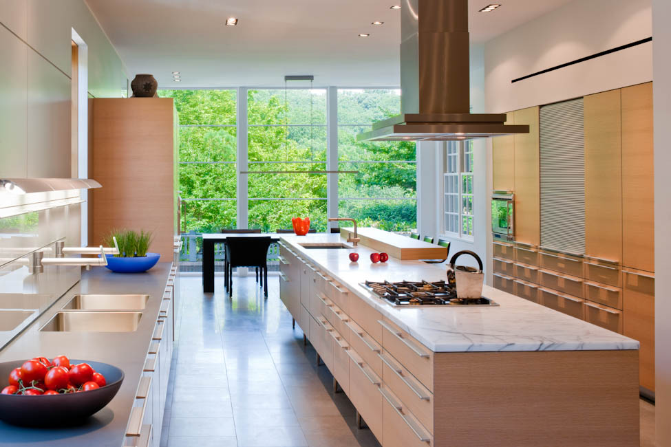 Schiller Kitchen, Washington, DC - designed by  Robert M. Gurney, FAIA